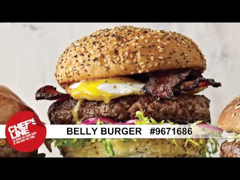 Chef's Line® Belly Burger