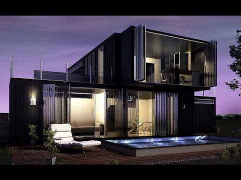 Inspiring Shipping Container Home Designs - YouTube