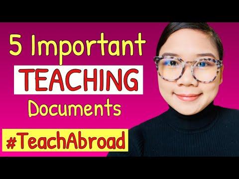 5 Important Teaching Documents For Teachers   Teaching Jobs In Arizona USA   Alissa Lifestyle Vlog