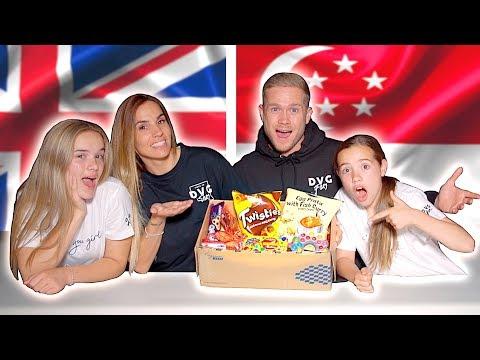 BRITISH FAMILY TRYING SINGAPORE SNACKS!! 🇸🇬