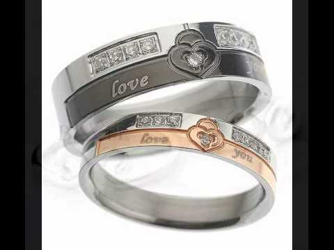 Top Personalized Promise Couple Rings