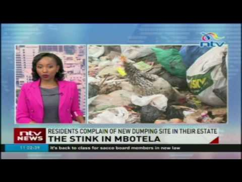 Residents complain of new dumping site in Mbotela estate