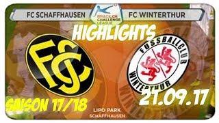 Fc Schaffhausen vs Fc Winterthur (21.09.17)