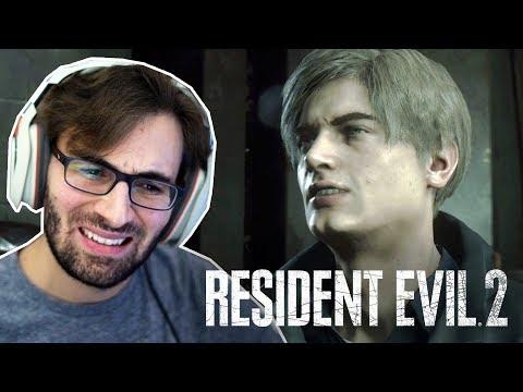 RESIDENT EVIL 2 Remake - O Início De Gameplay, Em Português PT-BR! | Campanha Do Leon