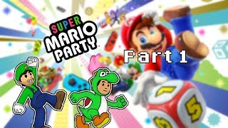 Super Mario Party Part 1: A Challenge   Pals Play Games