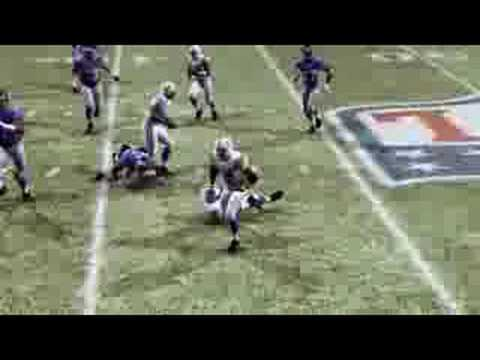 Fumble recovered by Keiaho,TD-madden nfl 09 ps3