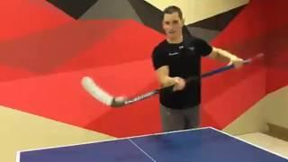 ХК Авангард играет в настольный теннис на карантине