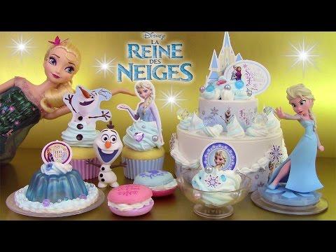 Reine des neiges Japan Frozen Whipple Gâteau  ホイップる アナと雪の女王セット