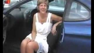 Repeat youtube video Mature upskirt in a car.