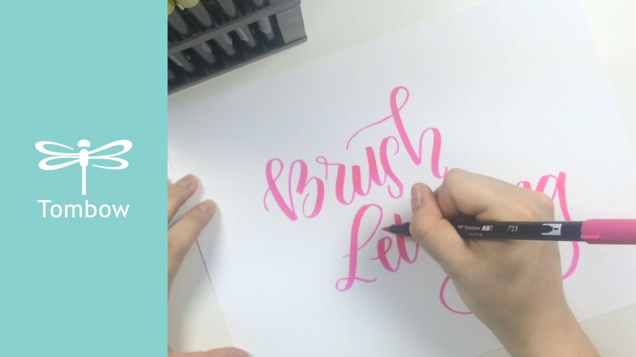 Ways to use tombow dual brush pens youtube