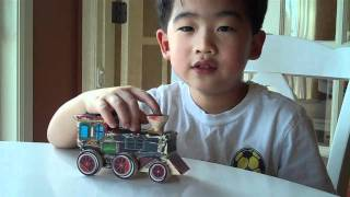 Melissa & Doug Decorate-your-own Train Kit Review By A 5 Year Old Boy