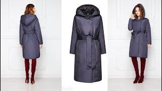 ОТЗЫВ НА Утепленное пальто с поясом, цвет серо-фиолетовый от FABERLIC