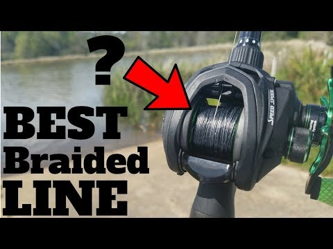 BEST Braided Line for Bass Fishing??? (BOLD CLAIM!!!)