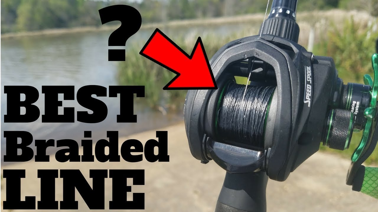 Best braided line for bass fishing bold claim for Best fishing line for bass