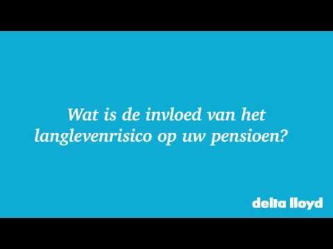 Langlevenrisico En Beleggingspensioen– Delta Lloyd Pensioen