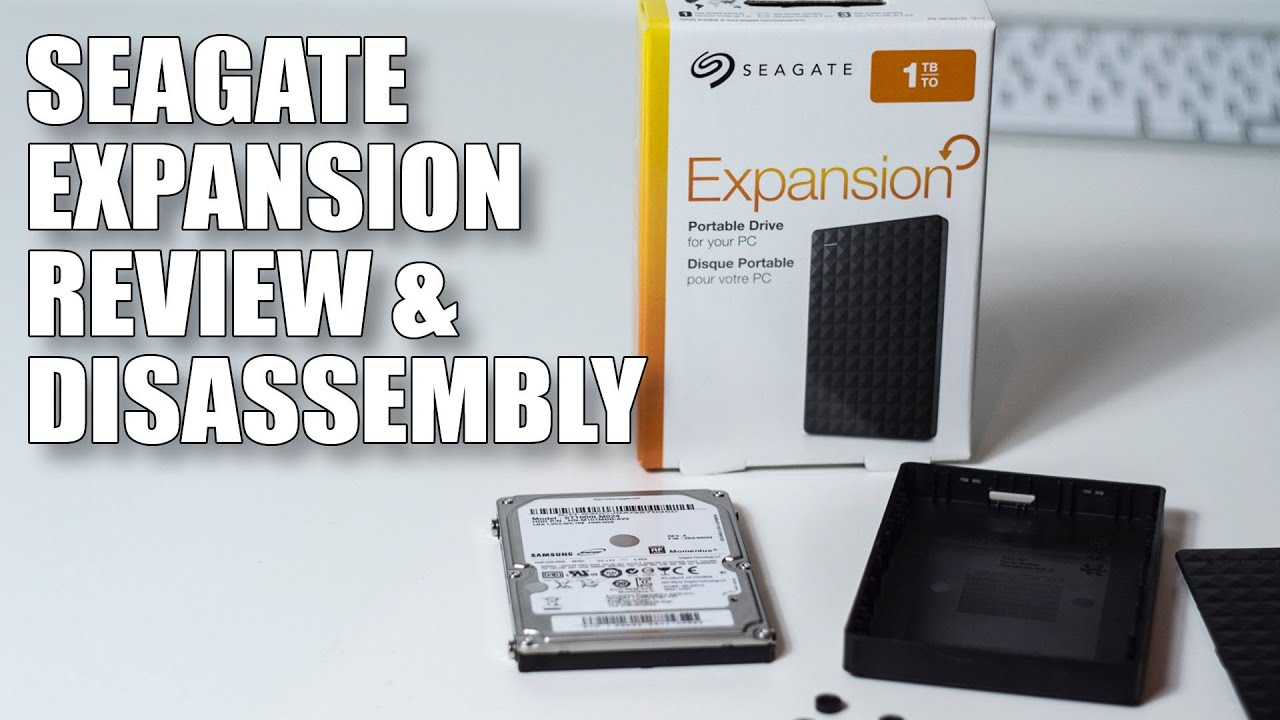 Seagate Expansion Portable Drive Review And Disassembly 1tb