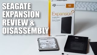 Seagate Expansion Portable Drive Review and Disassembly - 1TB version