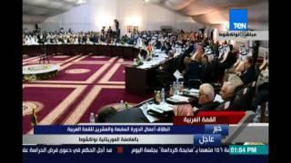 كلمة رئيس موريتانيا فى القمة العربية