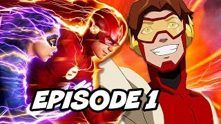 The Flash Season 5 Episode 1 - TOP 10 Easter Eggs and References Explained