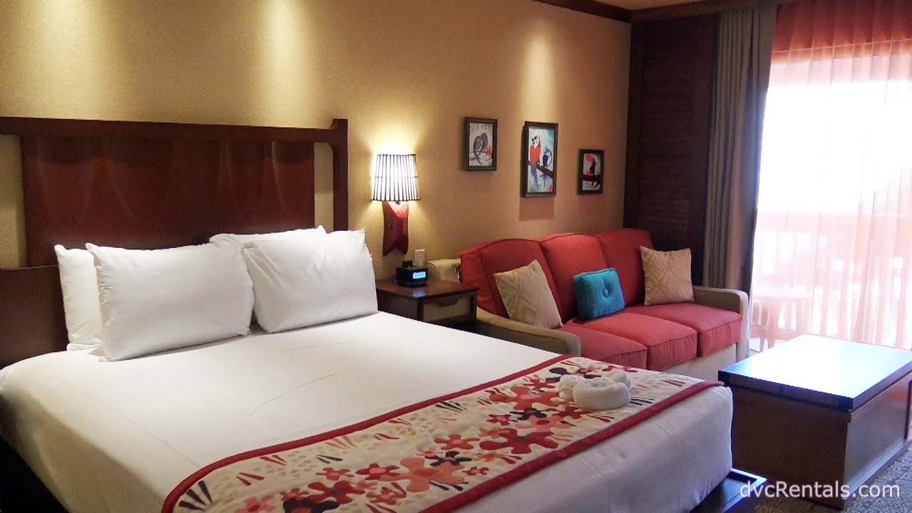 Polynesian Village Resort Room Tours Studio Walt