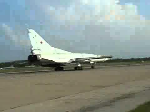 Tupolev Tu-22M3 Backfire Using It ALL - Near Miss
