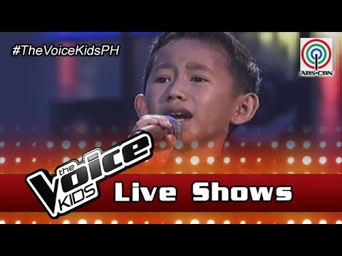 """The Voice Kids Philippines 2016 Live Semi-Finals: """"Mama"""" by Joshua"""