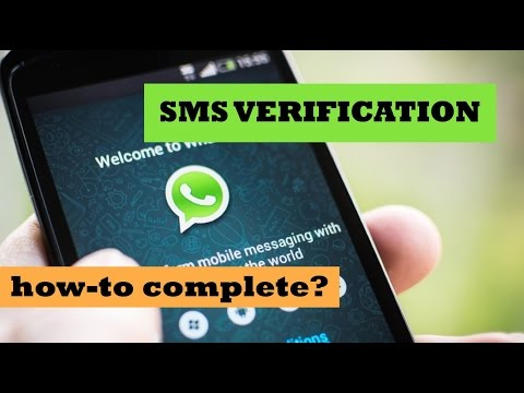 Mobile number for sms verification