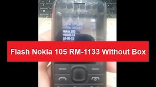 Flash Nokia 105 RM-1133 Without Box