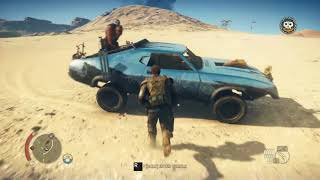 Mad max Free Roam Gameplay 2018 Ultra Settings