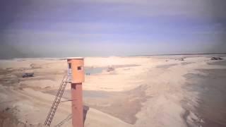 فيديو حصرى لأحواض الترسيب بقناة السويس الجديدة