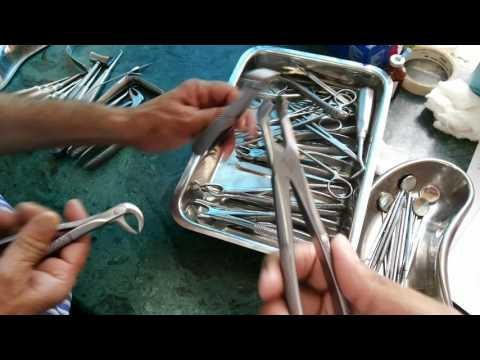 ORAL SURGERY INSTRUMENTS VIDEO 1 TO 4 DETAIL.