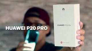SMARTPHONE COM A MELHOR CÂMERA DO MUNDO. HUAWEI P20 PRO - Unboxing