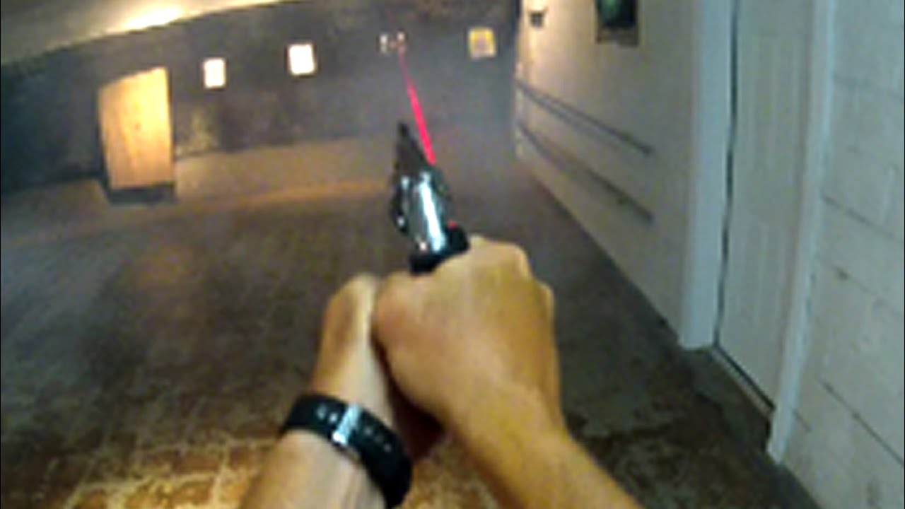 Shooting Ruger Sp101 With Crimson Trace Laser Grips