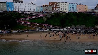 IRONMAN Wales may be one of the most challenging bike and run cours...
