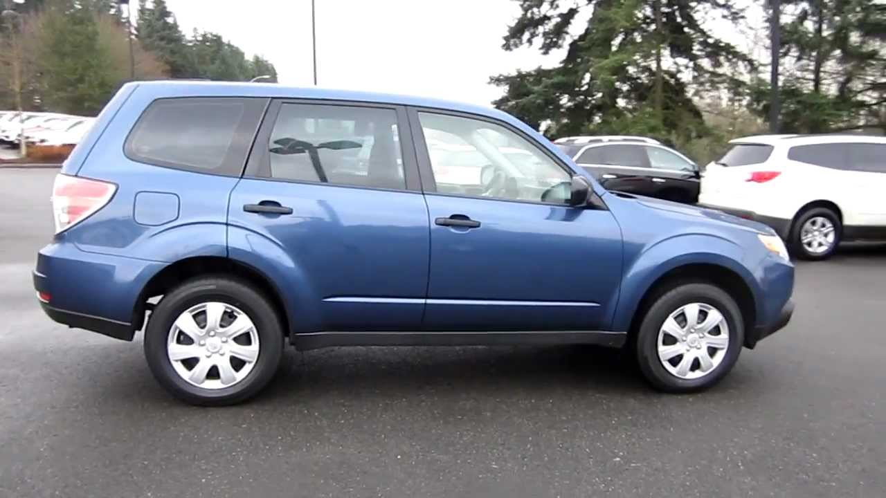 All Types 2011 forester : 2011 Subaru Forester 2.5X, Sky Blue Metallic - Stock# 606575 ...