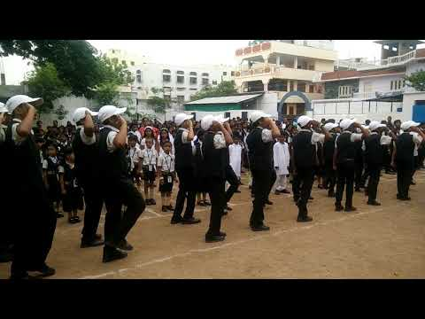 March Fast _ by Students of Sadhana school