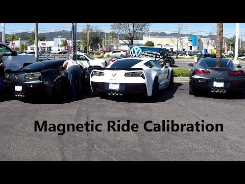 Magnetic Ride Calibration Install & Review on my Z06