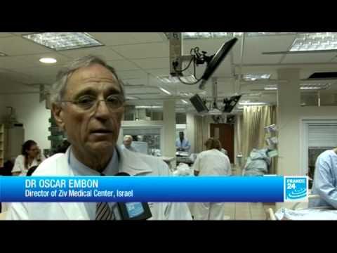 Israeli hospital treats Syrian refugees from across the border