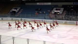 Cоревнования по синхронному катанию на коньках принесли победу команде «Юность-РГППУ»