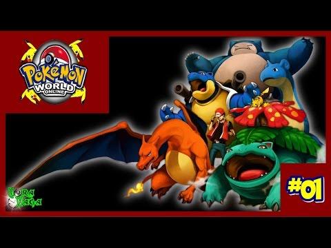 Pokemon World Online 2016 Gameplay #1