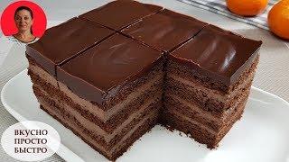 як зробити домашній торт легкий рецепт