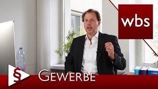 Recht für YouTuber: Muss ich ein Gewerbe anmelden? | Rechtsanwalt Christian Solmecke