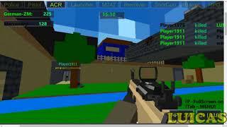 Crazy Pixel Apocalypse 🎮 Juego Shooter FPS Multijugador Gratis 🎮 en PC y Navegador Web