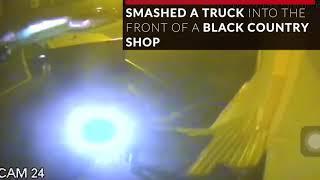 Dramatic CCTV shows ram-raiders fail to steal an ATM