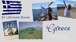 THE GREEK ISLANDS || EF Ultimate Break || samantha royston