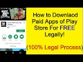 How to Download Any Paid Apps & Games For Free with proof