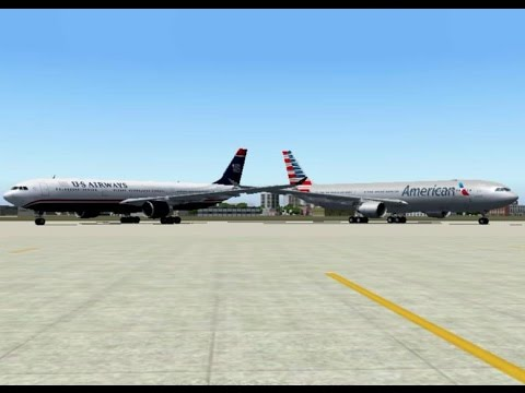 FS2004 - Goodbye, US Airways (1939 - 2015)