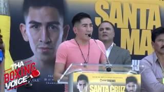 SANTA CRUZ vs MARES -- FULL PRESSER -- Los Angeles