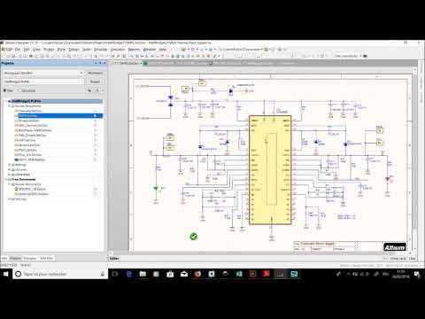 UTC Hardware/Software #33 - Schémas de la carte principale du bras de pont iLeg