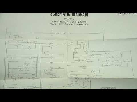 GE Oven Schematic and Wiring Diagram - YouTube Ge Profile In Single Wall Oven Wiring Diagram on